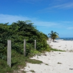 Sold beachfront lot