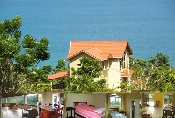 Three Bedroom Oceanview Rainforest Home With Pool In Trujillo. Central  America Real Estate ...