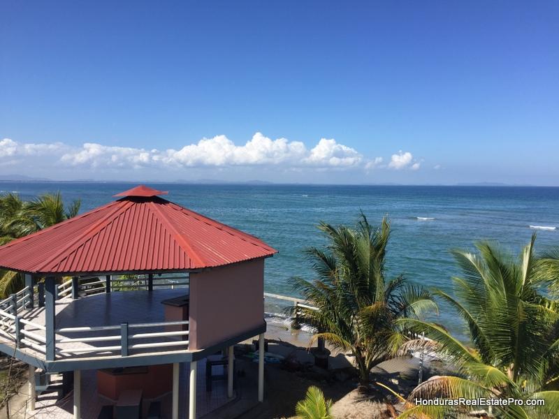9 beachfront condos penthouse resort tela honduras real estate